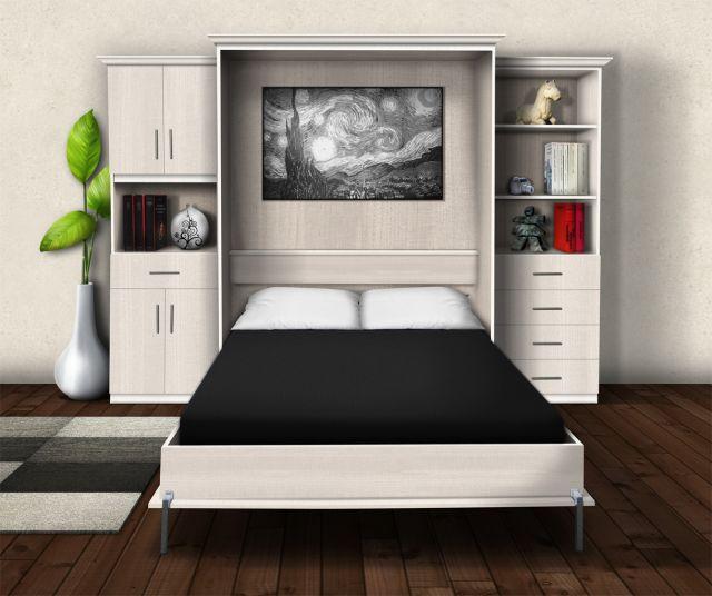 Pourquoi choisir un lit murphy tout pour la d coration - Lit pliant 2 personnes pas cher ...